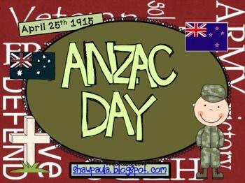 ANZAC DAY - A Literacy Unit