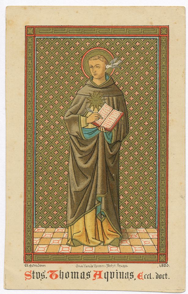 thomas aquinass and the medieval churchs essay Saint thomas aquinas (1225 - march 7 1274) was a catholic philosopher and   he is considered by the catholic church to be its greatest theologian and one of   challenge to the well-established clerical systems of early medieval europe.