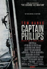 CAPTAIN PHILLIPS. The true story of Captain Richard Phillips and the 2009 hijacking by Somali pirates of the US-flagged MV Maersk Alabama, the first American cargo ship to be hijacked in two hundred years. Ref. number(s): ENG-611 (DVD).