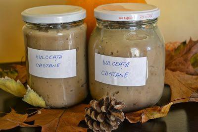 Myra's kitchen: Dulceata de castane