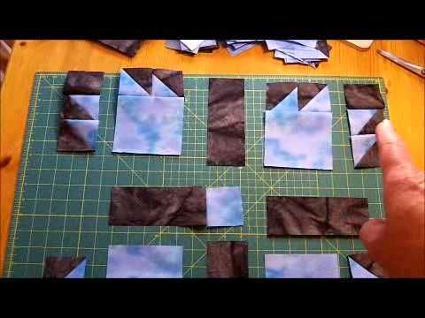 ▶ How to Make a Quilt - Bears Paw Quilt Pattern Video - YouTube