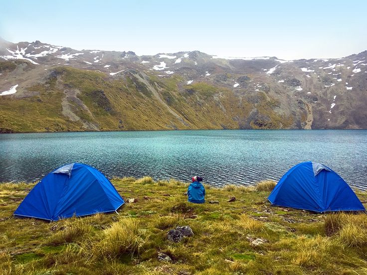Nelson Lakes National Park Camping, New Zealand