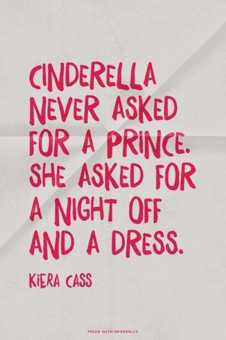all I want is a night off and a dress!
