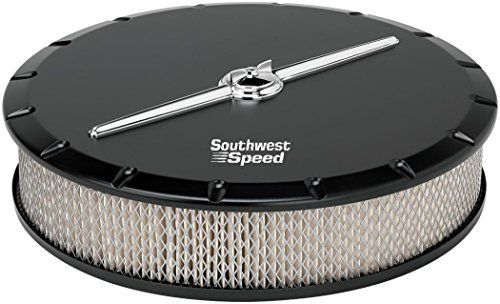 "NEW BILLET SPECIALTIES STREAMLINE BLACK ALUMINUM, LARGE ROUND AIR CLEANER ASSEMBLY, 14"" DIAMETER X 3"" TALL WITH K&N LIFETIME FILTER ELEMENT & STAINLESS STEEL HARDWARE Southwest Speed http://www.amazon.com/dp/B00XWPLP90/ref=cm_sw_r_pi_dp_gsjxvb0B143TZ"