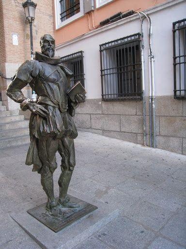 Otra estatua suya en Toledo