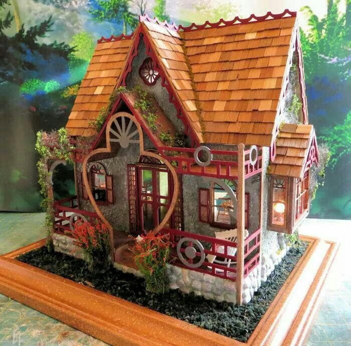 507 best images about miniature cottages fairy houses on pinterest fairy houses doll houses - The dollhouse from fairy tales to reality ...