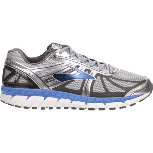 Brooks Men's Beast '16 Running Shoes (Silver/Medium Blue, Size 13) - Men's Running Shoes at Academy Sports