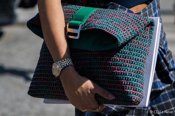 Paris Fashion Week Haute Couture FW17 Chanel Street Style PFW