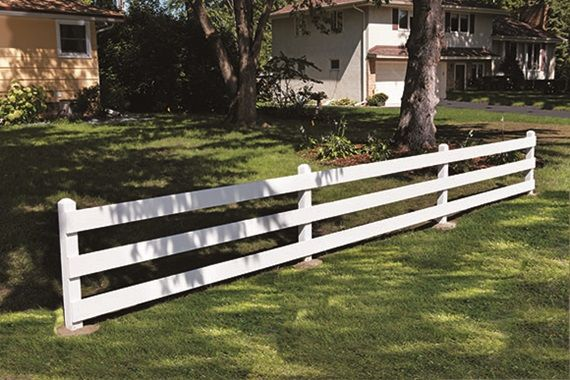 Build a classic post and board fence. We provide step by step instructions, with pictures, and a list of all the tools and materials you will need.