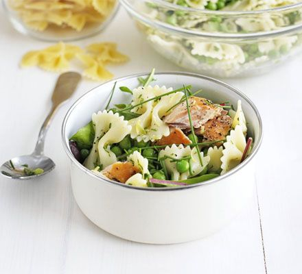 Healthy Lunch Ideas: Easy Pasta Salad, several ways to vary it