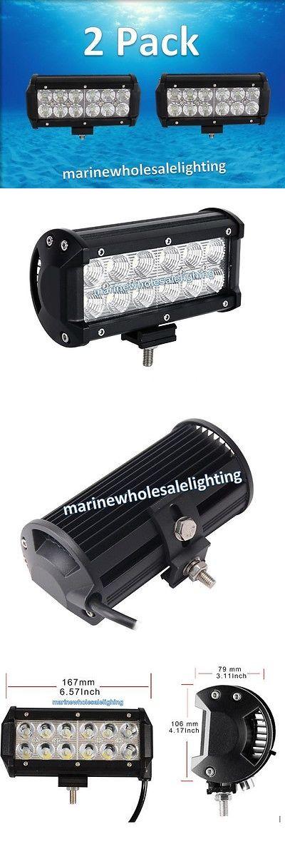 boat parts: Super Rectangular Marine Led 36W Pontoon Docking Light Deck Boat 12V -> BUY IT NOW ONLY: $49.0 on eBay!