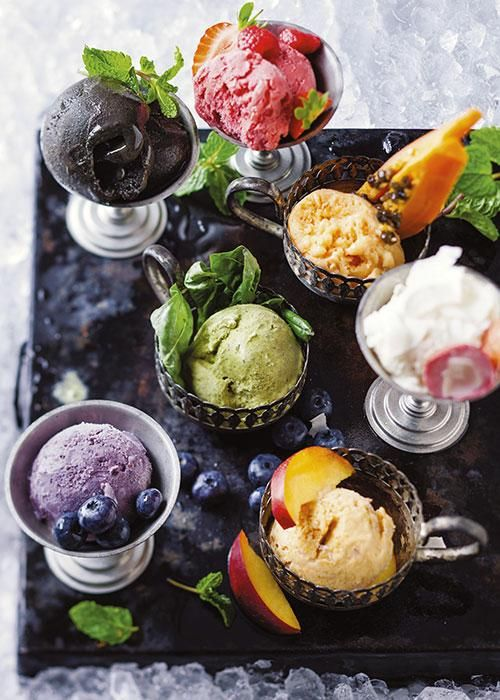 Fruit ice cream | Vrugteroomys