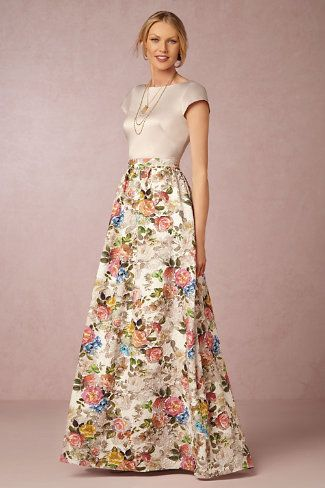 10 Floral Bridesmaid Dresses For Fall