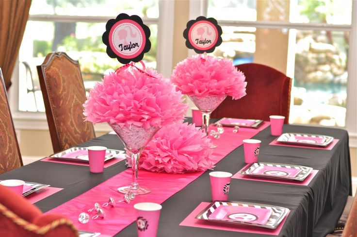 24 best images about party time on pinterest for Decoration barbie