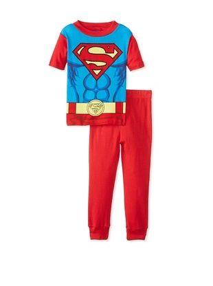 53% OFF Kid's Superman 2-Piece Pajama Set (Blue)