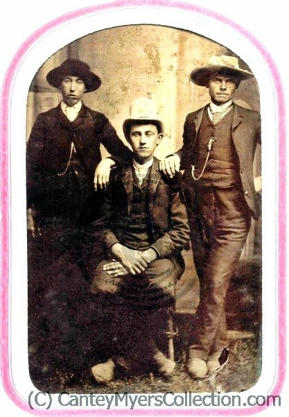 Billy the Kid, Dick Brewer, Alex McSween
