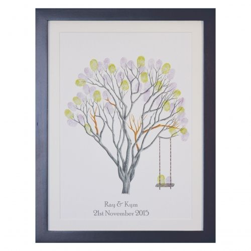 Jacaranda + swing. Doesn't matter what time of the year, we have the ink pad colours to match the season. All kits include three or more ink pads, along with anything else you may need....including the frame.