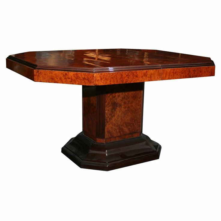 1000 images about art deco dining tables dining chairs for Unusual extending dining tables