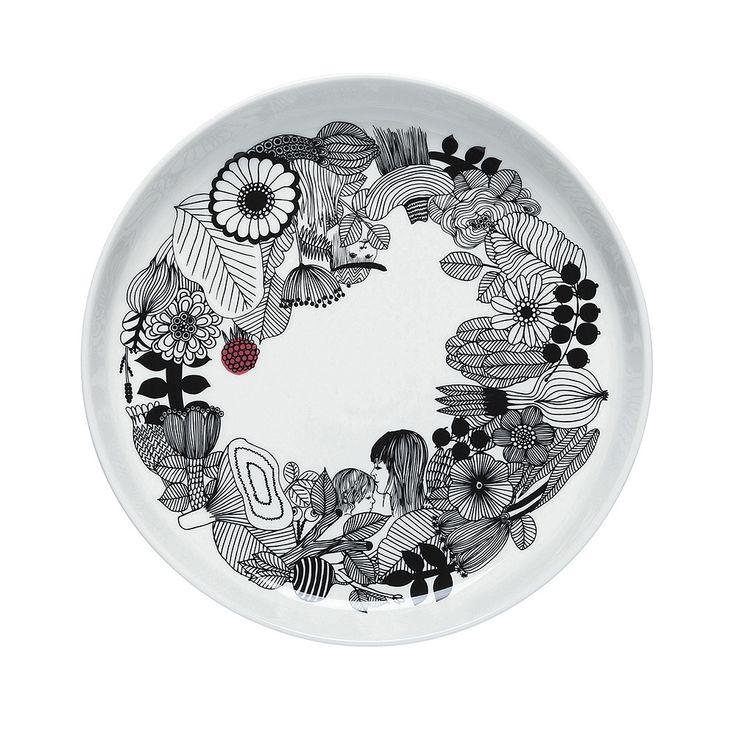 Discover the Marimekko Siirtolapuutarha Platter - 32cm at Amara