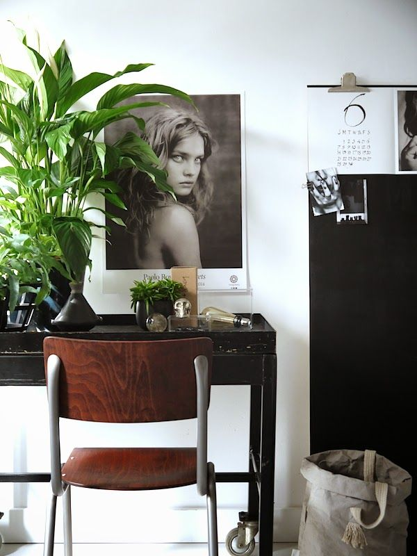 Inspiration with greens at home