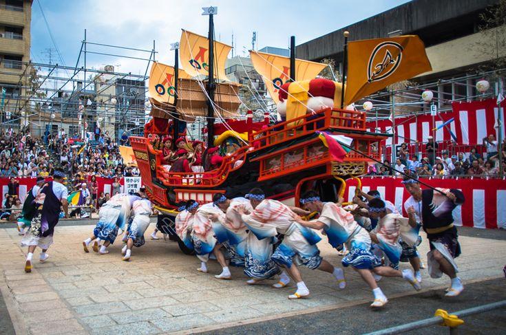 長崎くんち 2013 本石灰町 傘鉾・御朱印船 | Nagasaki365 - 長崎の今をお届けします。