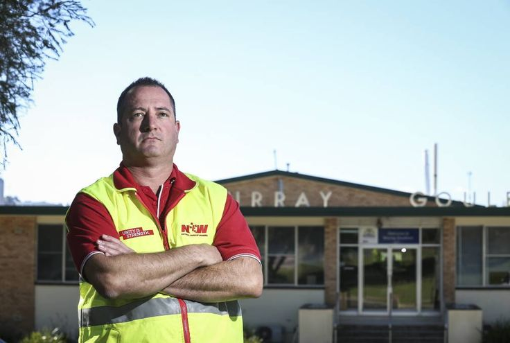 Ears blocked: Union representative Neil Smith says it is very disappointing Murray Goulburn was not willing to entertain a bid from a company that wanted to buy its doomed Kiewa plant.