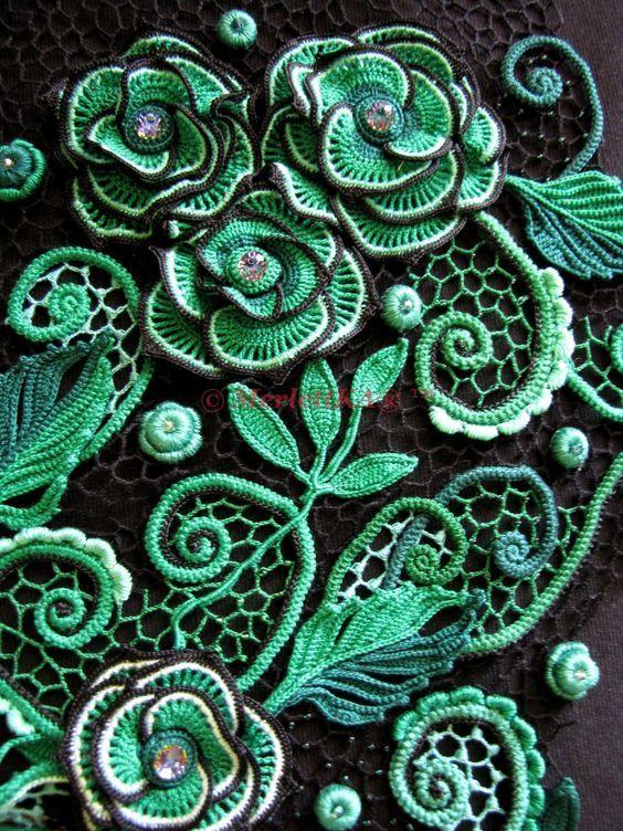 Жемчужная библиотека DMC Irish Crochet Lace ☆ всё об ирландском кружеве. Обсуждение на LiveInternet - Российский Сервис Онлайн-Дневников