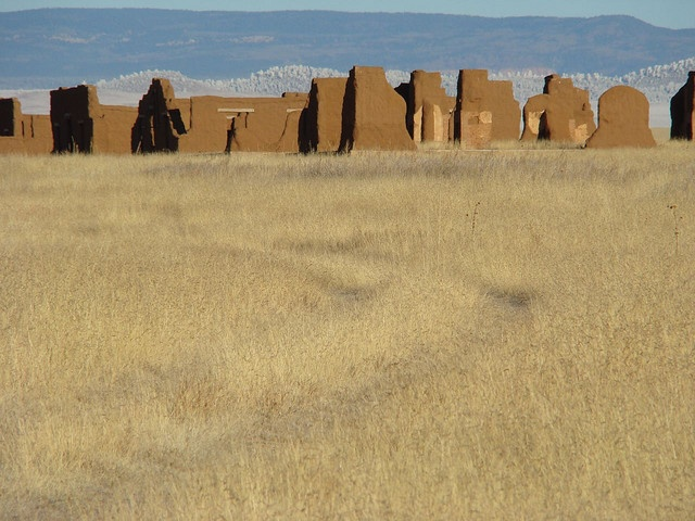 Historic Fort Union, New Mexico, on the Santa Fe Trail, via http://frontiertraveler.com #travel #history #newmexico
