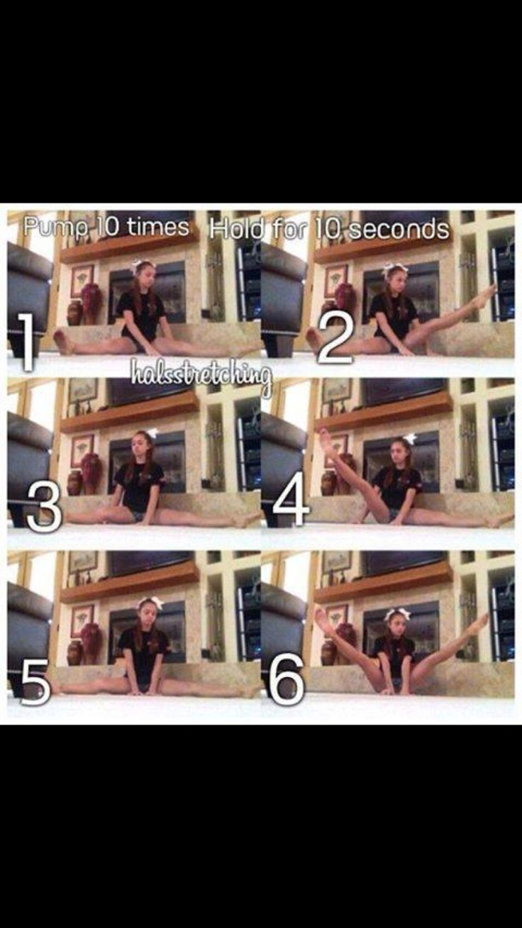 stretches for toe touches