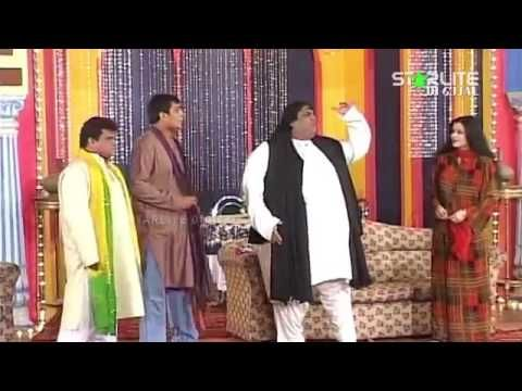 New Pakistani Stage Drama Best Of Nawaz Anjum and Shahid Khan Full Comed...