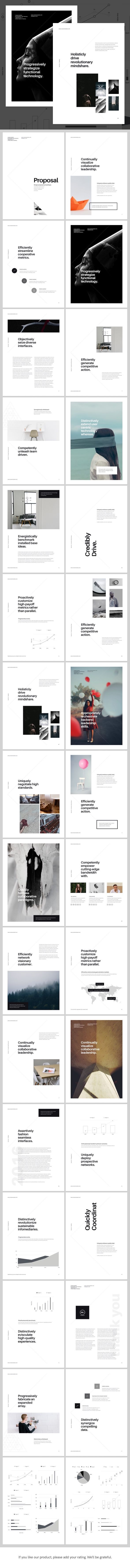 A4 Keynote Presentation for Print - Creative Keynote Templates More