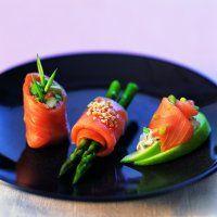 Trio de saumon fumé  et autres délices pour la St-Valentin