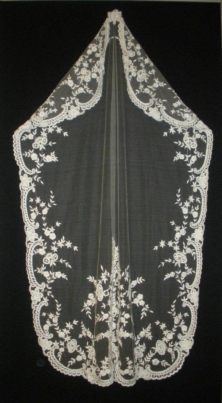 rare vintage veil