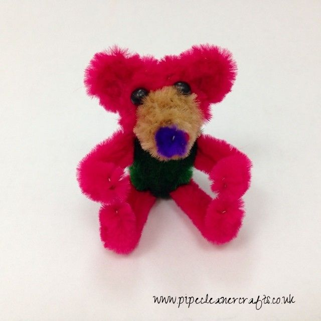 pipe cleaner bear pipe cleaner animals by httpwww