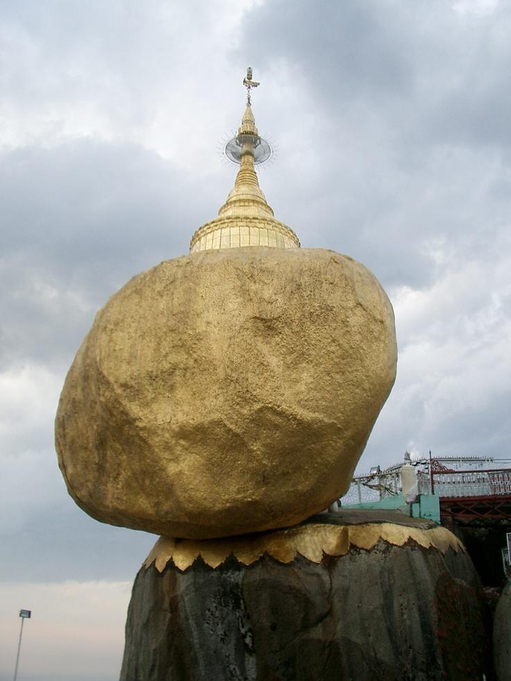 #GoldenRock #Myanmar