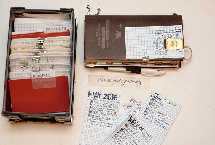 Like the Task Card Idea! :-) Baum-kuchen - On Keeping My Notebook // Trina O'Gorman