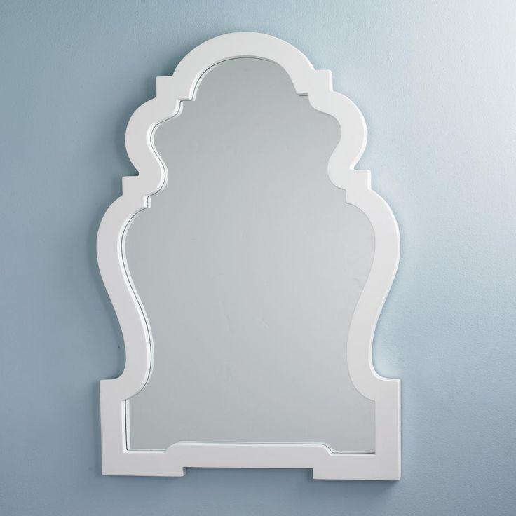 Lacquer Silhouette Mirror