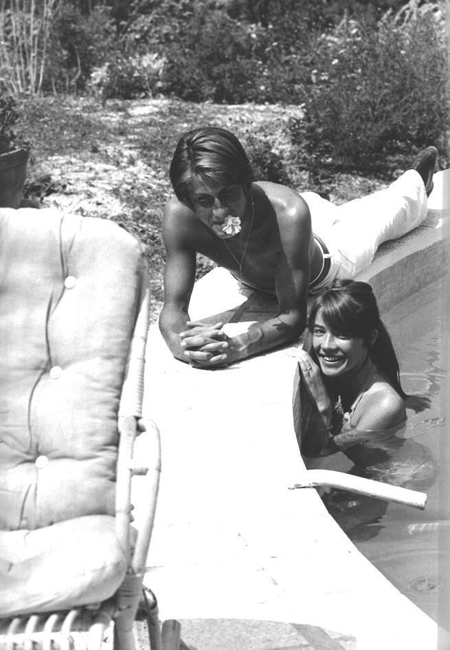 Jacques Dutronc et Françoise Hardy
