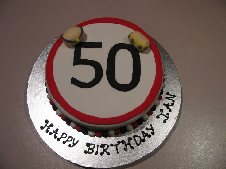 How to Choose 50th Birthday Cakes for Men | Birthday Cake Trends