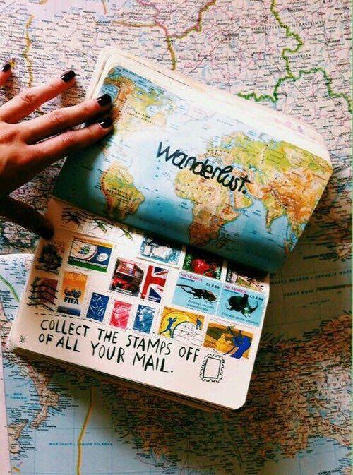 Reúna aqui selos de todas as cartas que você recebeu. Destrua Este Diário