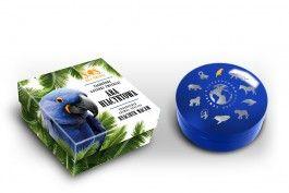 Ara hiacyntowa, 1 dolar, Seria: SOS dla świata - Zagrożone gatunki zwierząt (Srebrna Moneta)
