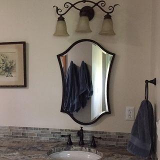 """Uttermost Abra Bronze 20"""" x 30"""" Wall Mirror - #79416 ..."""
