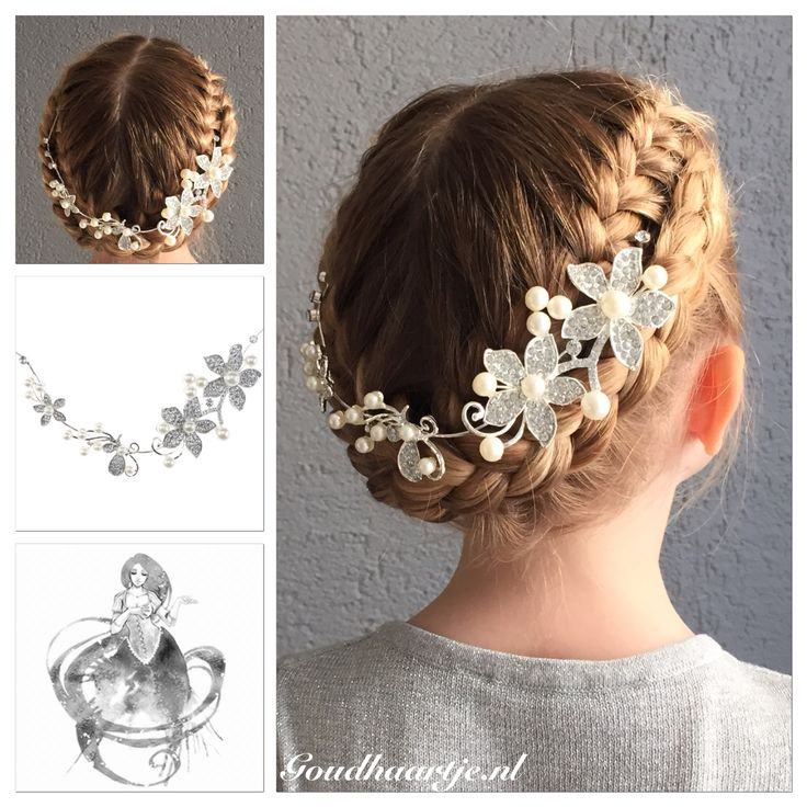 French braided updo with a beautiful hairaccessorie from Goudhaartje.nl  #updo #hairstyle #braid #hair #frenchbraid #beautifulhair #haaraccessoires #bridalhair #bride #bridesmaid #opgestoken #haarstijl #vlecht #haar #invlecht #mooihaar #haaraccessoires #bruidshaar #mooihaar #eleganthair #bruid #bruidskapsel #goudhaartje