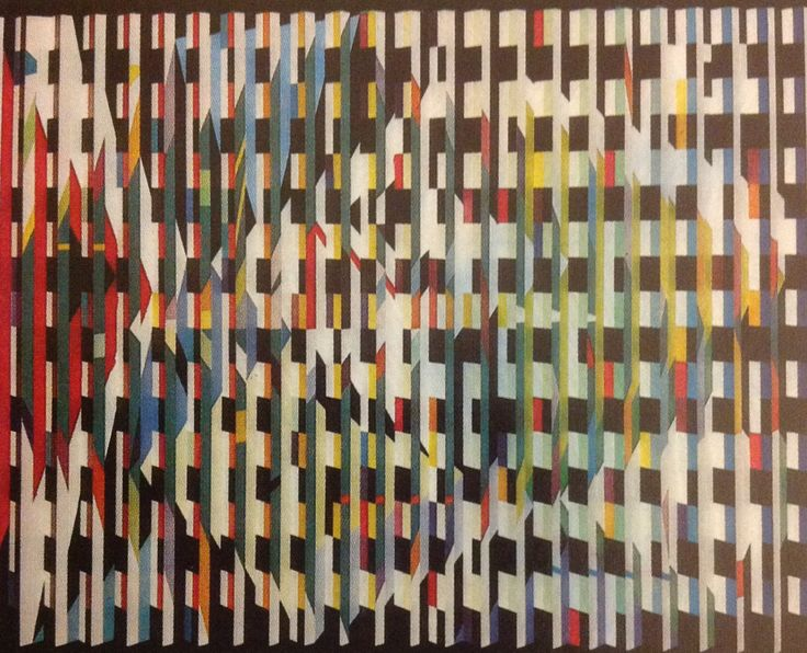 an interest on paam 1969 an artwork by yaacov agam Shop for kinetic sculpures from the world's finest dealers on 1stdibs global shipping available  yaacov agam, israeli (1928 - ) title: space divider medium .