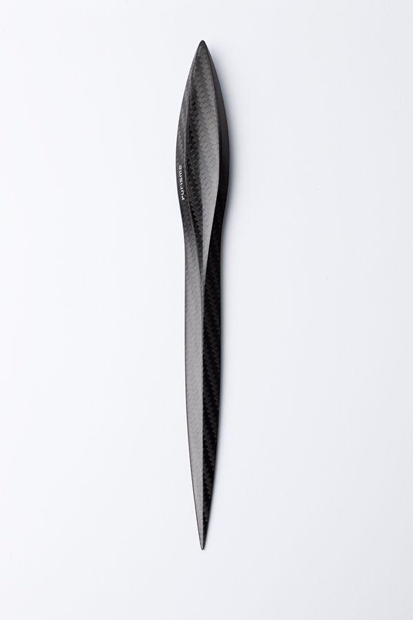 Purisme - Carbon Fiber Letter Opener by Mario Zeppetzauer » Yanko Design