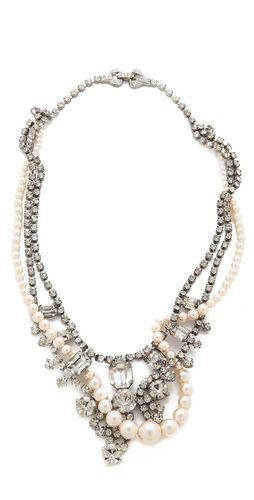 TOM BINNS Grande Dame Crystal Tangled Necklace | SHOPBOP