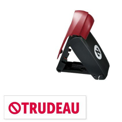 #Stop Justin Trudeau Canada Liberal econo Pocket Stamp - #office #gifts #giftideas #business