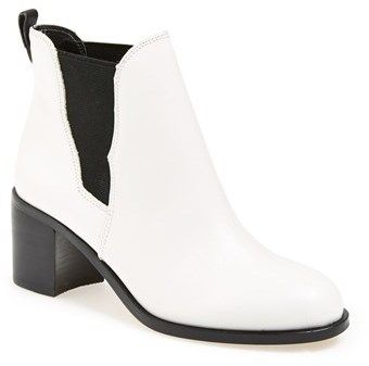 Sam Edelman 'Justin' Leather Bootie (Women) on shopstyle.com
