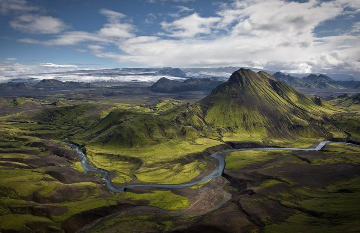 Iceland. Air Pano. #adventure #travel