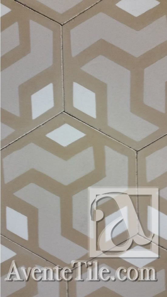 8 best mission hexagonal cement tile images on pinterest cement mission hexagonal amy 8 hexagon encaustic cement tile avente tile ppazfo